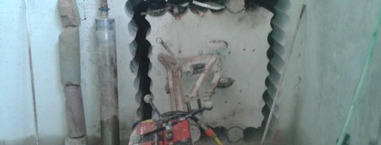 Perforaciones de Hormigón Entrelazadas