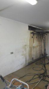 Corte de hormigón Apertura de puertas en Cardedeu para garaje particular
