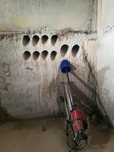 Perforaciones con brocas diamantadas ADW en una Estación Transformadora de fecsa-endesa_2